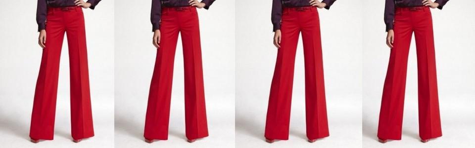 Aquela calça vermelha